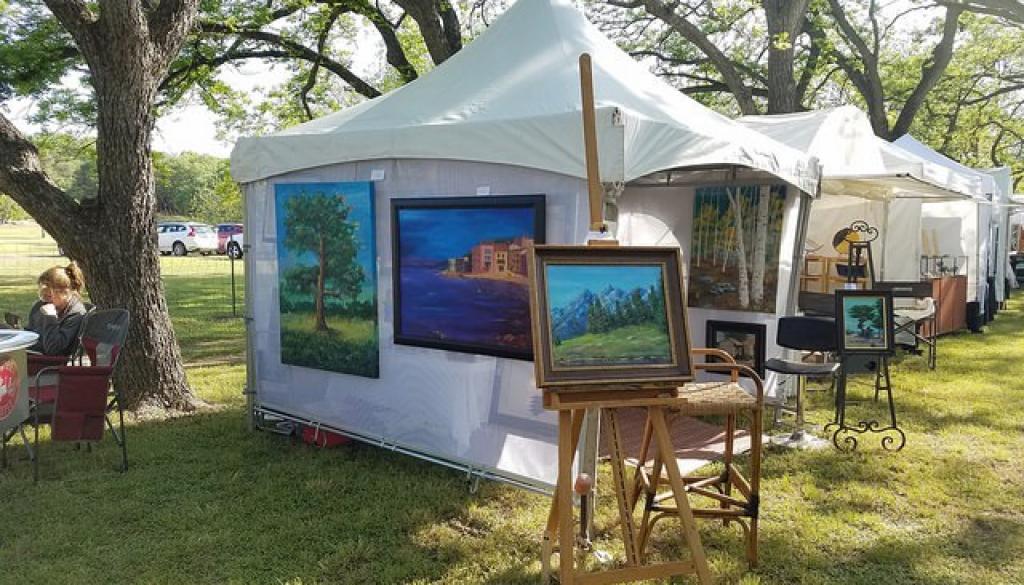 arts fest tents