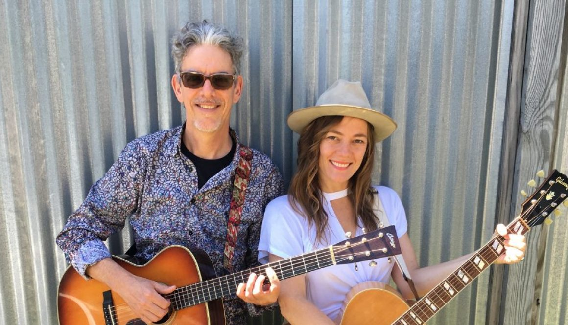 Andrew Hardin and Kelley Mickwee